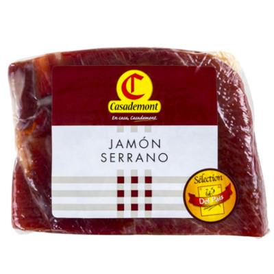 3660071095601_Jambon Serrano STG 9 mois demi bloc 4D 2,30Kg environ CASADEMONT