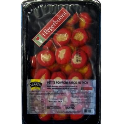 petits poivrons farcis au thon 1 kg Tapasti I Peperbuoni