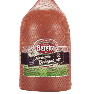 8007660256602 Mortadelle Bologna pistachée IGP 7,5 kg BERETTA