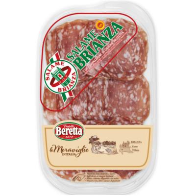 8007660294925 Saucisson Brianza AOP 90g MERVEILLES D'ITALIE BERETTA