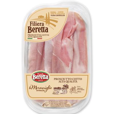 8007660294826_Jambon cuit Nostrano 120g MERVEILLES D'ITALIE BERETTA