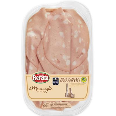 8007660294727_Mortadelle Bologna IGP 100g MERVEILLES D'ITALIE BERETTA