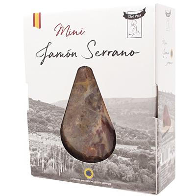3660071001237_Coffret mini jambon Serrano 1 Kg DEL PAIS